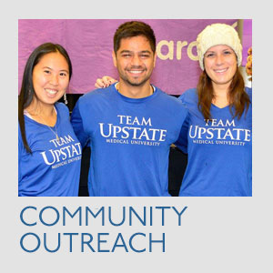 Community Outreach at Upstate
