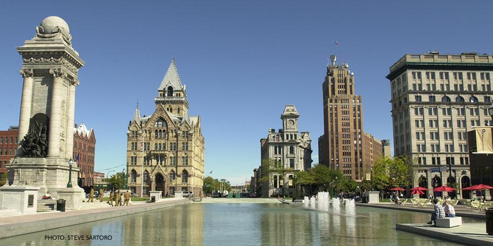 Syracuse NY Clinton Square