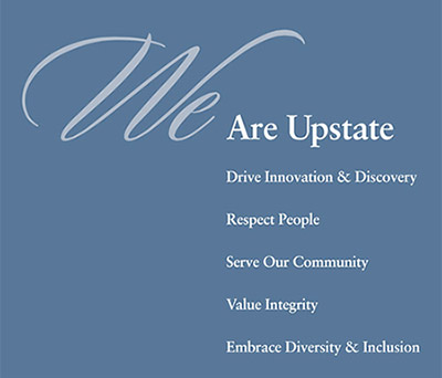 Our Mission Vision Values About Upstate Suny Upstate Medical
