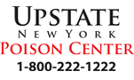 Upstate New York Poison Center (1-800-222-1222)