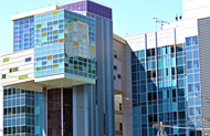photo of Upstate Golisano Children's Hospital and University Hospital East Tower