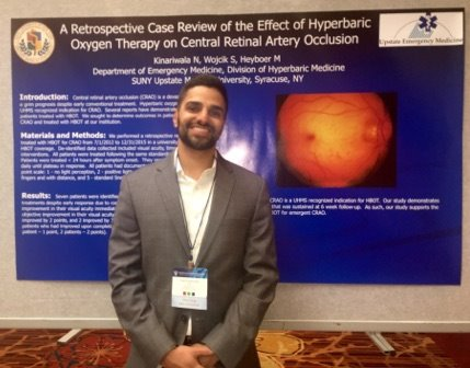 Neal Kinariwala Presents at UHMS Scientific Meeting | Emergency