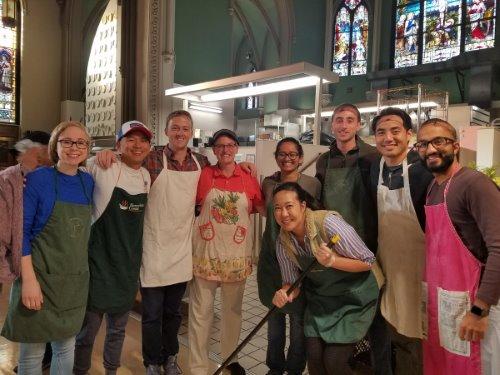 2017 EM Day of Service at Samaritan Center