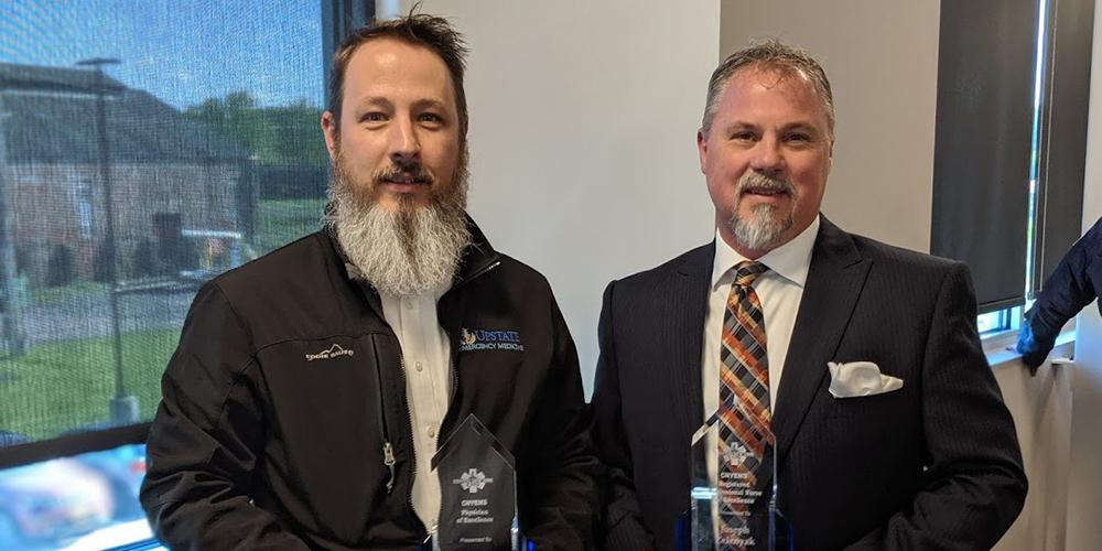 Zelenyak and Sarsfield Receive EMS Awards