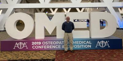 Dr. Kloss Presents at AOA Annual CME Event