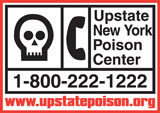 Upstate New York Poison Center 800 222-1222