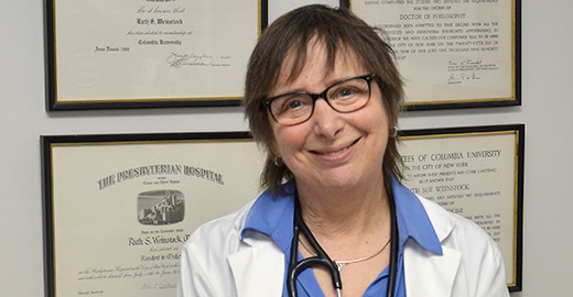 Ruth S. Weinstock, MD, PhD, Chief of Endocrinology