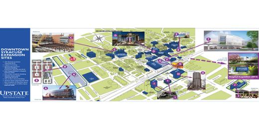 Upstate Medical Center >> Maps   Marketing Communications   SUNY Upstate Medical University