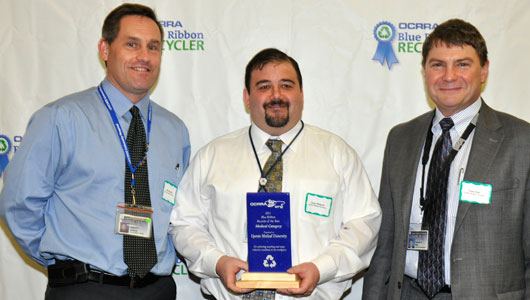 Upstate is honored as Recycler of the Year