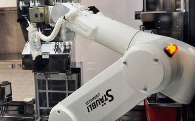 Upstate acquires state-of-the-art IV robotic technology