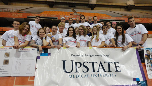 Colleges Against Cancer members share knowledge at Relay for Life