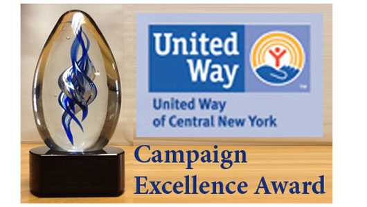 Upstate cheered for campaign excellence by United Way