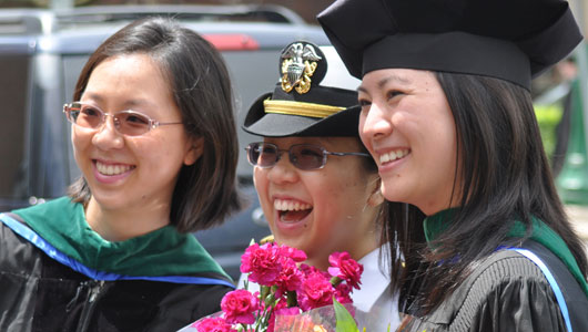 Upstate Medical University confers degrees