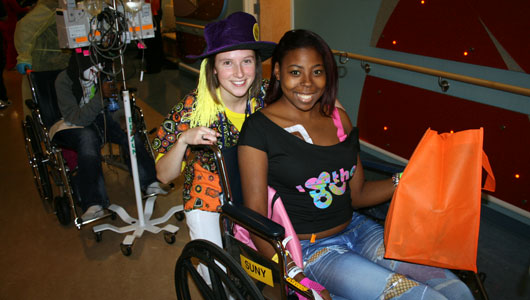 Upstate Golisano Children's Hospital hosts Halloween parade for patients and their families