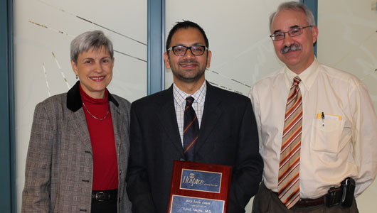 Upstate oncologist honored by local hospice center for compassionate care