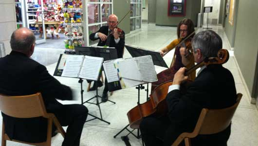 Classical music greets hospital patients, visitors