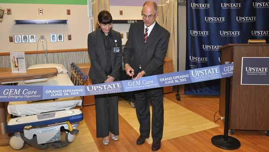 Upstate opens area's first emergency department for older adults