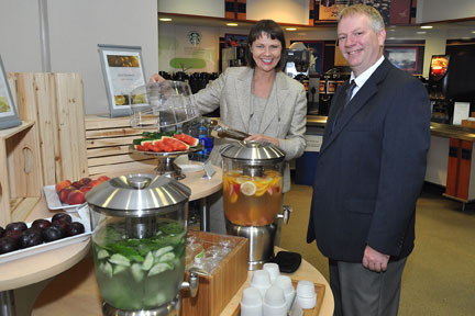 Healthy food options are menu staples at Upstate