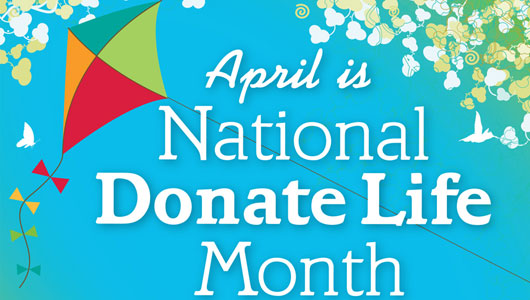 Upstate celebrates Donate Life Month April 23