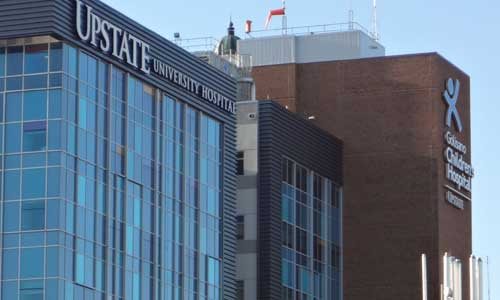Upstate University Hospital recognized for quality management system