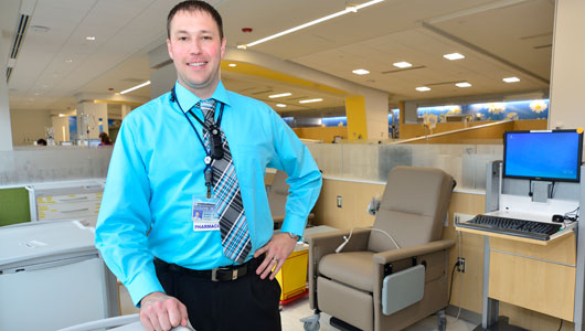 Upstate Cancer Center Pharmacy offers quality assurance and education services
