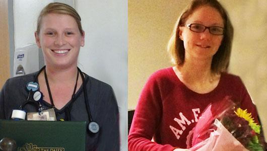 Two nurses honored with inaugural DAISY award
