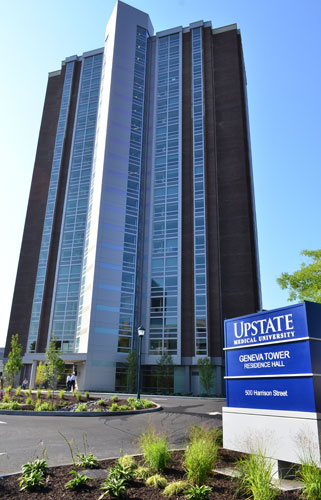 Upstate Medical University's downtown residence hall achieves LEED Silver certification
