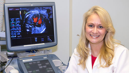 Upstate's Lisa M. Allen named Distinguished Sonographer of the Year