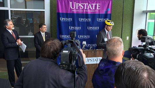 Bike Helmet outreach
