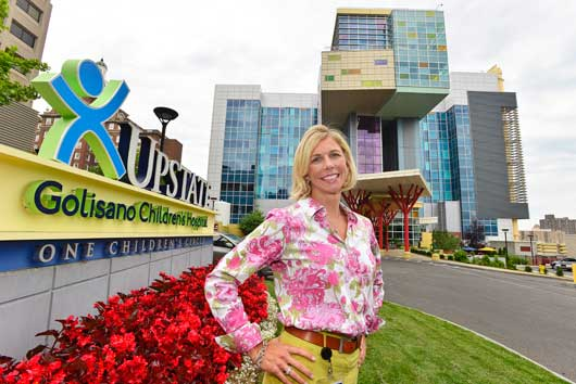 Consulting with hospitals across the country lands Jennifer Speicher close to home as Upstate Golisano Children's Hospital's new administrator