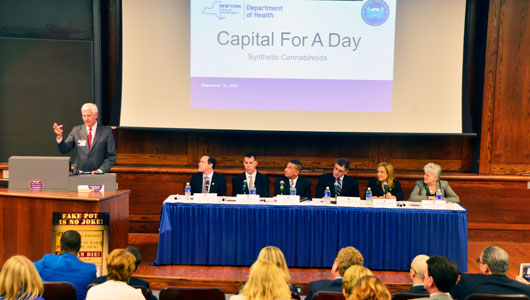 Upstate hosts Capital for a Day