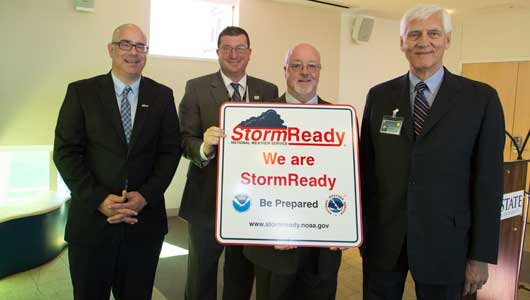 Upstate earns StormReady designation from National Weather Service