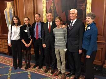 Congressman Katko pays tribute to President Eastwood in Washington, D.C.