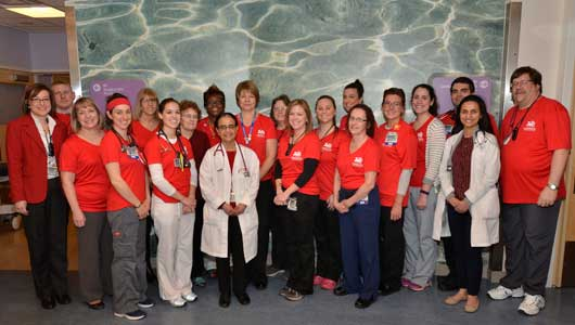 Go Red for Women at Upstate