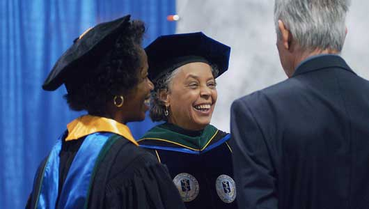 Dr. Danielle Laraque-Arena installed as president of Upstate Medical University April 15
