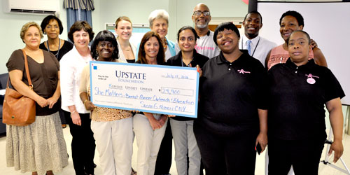 Upstate receives Komen grant to support breast cancer education, awareness at Syracuse Housing Authority