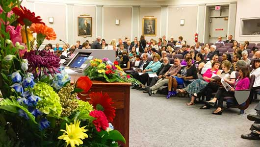 Upstate recognizes outstanding service at Fall Faculty Convocation