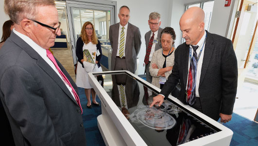 Pathology's 3D autopsy table