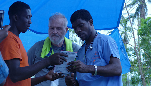 Medical mission lands David Lehmann, MD, in Haiti for hurricane relief effort