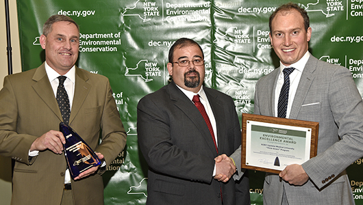 Upstate is honored for environmental excellence by state conservation office