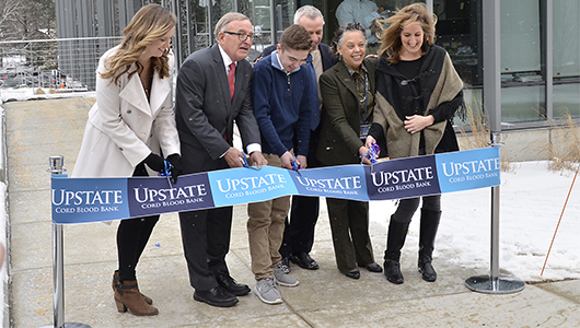 Upstate opens Cord Blood Bank in a ribbon-cutting ceremony
