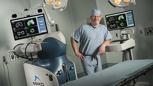 Upstate performs first Mako Total Knee replacement in region