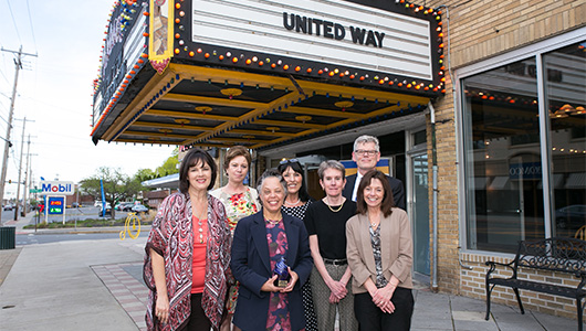 Upstate is honored as Corporate Volunteer of the Year