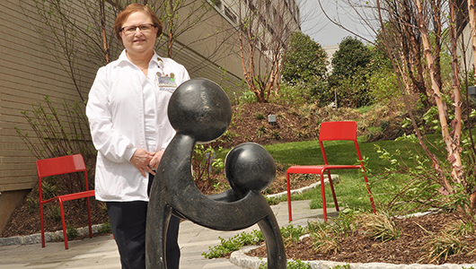 Patient and Family Healing Garden blooms at Community Campus