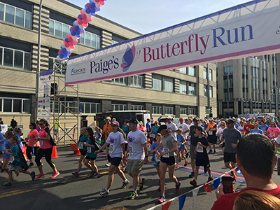 Now in its 21st year, Paige's Butterfly Run steps off June 3