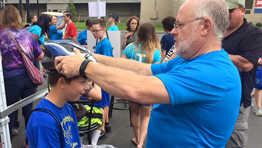 Upstate to give away 800 free bicycle helmets to kids at New York State Fair Sept. 1.