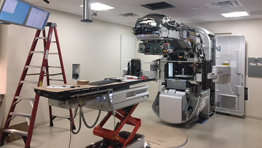 Cancer-fighting technology being installed in advance of Radation Oncology opening