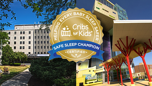 Upstate University Hospital earns recognition as 'Gold Safe Sleep Champion'