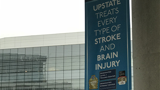 Study, using brain imaging technology in use at Upstate, shows doctors have more time for clot removal procedure, than first thought