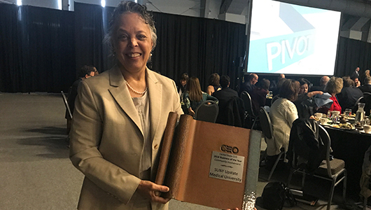 Upstate wins Business of the Year for Community Involvement award from CenterStateCEO